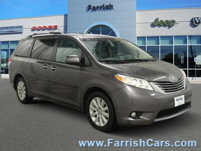 Used 2011 Toyota Sienna XLE light gray interior 133785 miles Stock S19908A VIN 5TDDK3DC6BS011