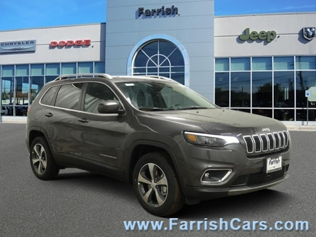 New 2019 Jeep Cherokee LIMITED 4X4 black interior 0 miles Stock 33555 VIN 1C4PJMDX5KD383553