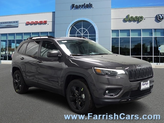 New 2019 Jeep Cherokee ALTITUDE 4X4 crystal metallic exterior black interior 0 miles Stock 3323