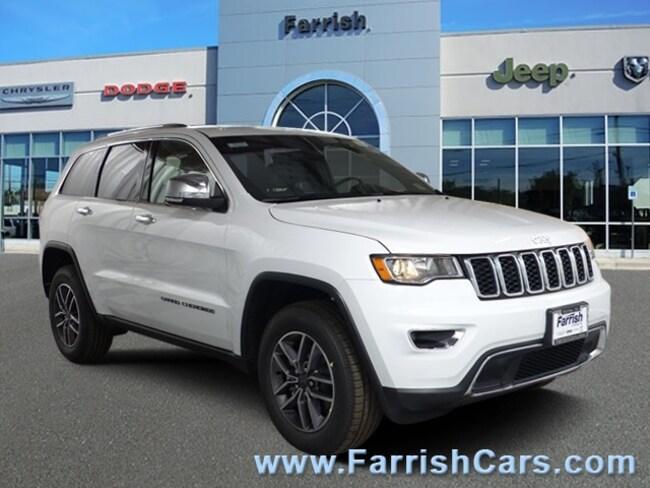 New 2019 Jeep Grand Cherokee LIMITED 4X4 black interior 0 miles Stock 33254 VIN 1C4RJFBG1KC570