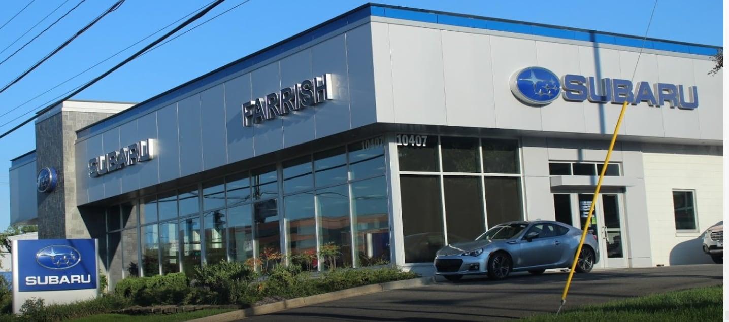 Farrish Subaru Service Menu   Subaru Dealer Serving Fairfax VA