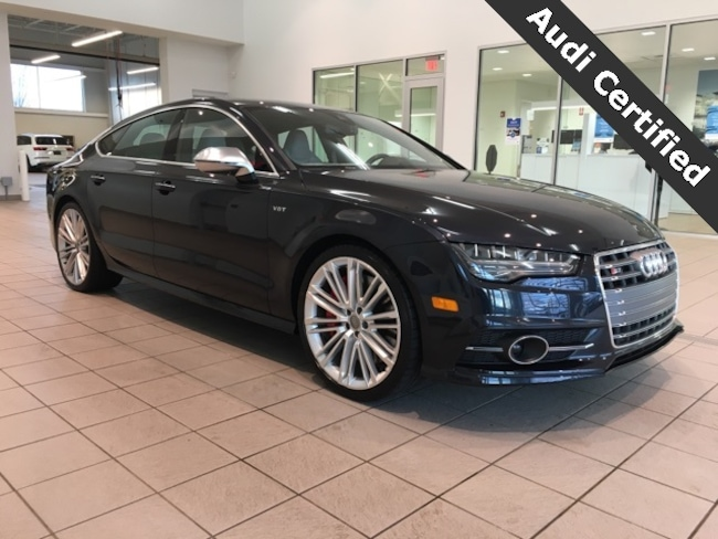 Certified Pre-Owned 2018 Audi S7 4.0T Prestige quattro West Springfield MA