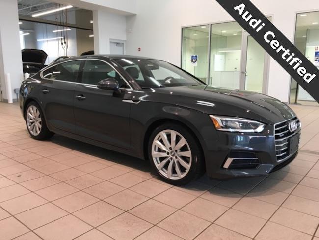 Certified Pre-Owned 2018 Audi A5 2.0T Premium Plus quattro West Springfield MA