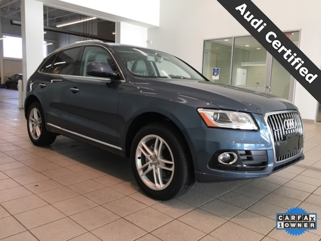 Certified Pre-Owned 2017 Audi Q5 2.0T Premium Plus quattro West Springfield MA