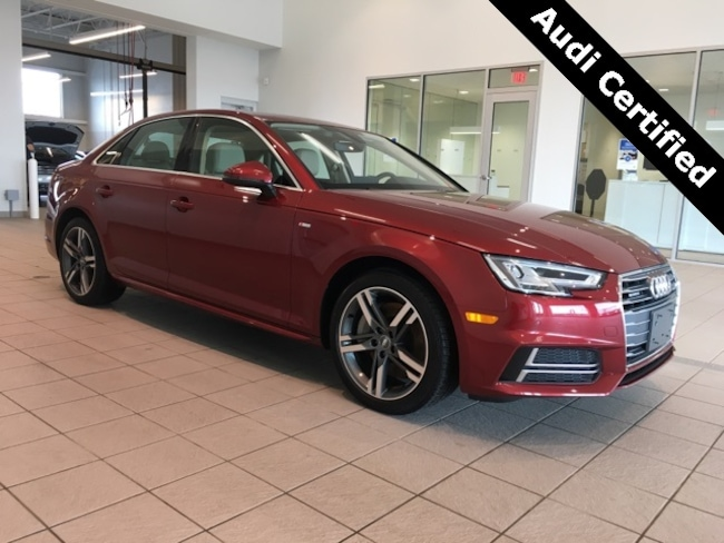 Certified Pre-Owned 2018 Audi A4 2.0T Premium Plus West Springfield MA