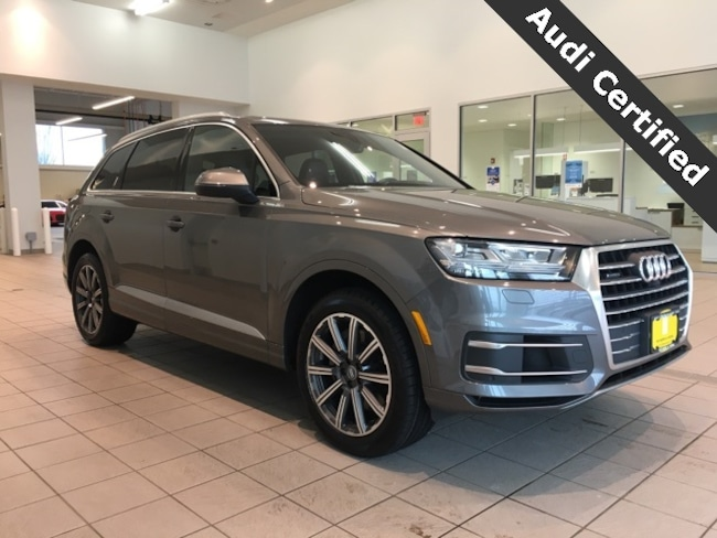 certified pre owned 2017 audi q7 for sale in west springfield ma fathers sons audi serving. Black Bedroom Furniture Sets. Home Design Ideas