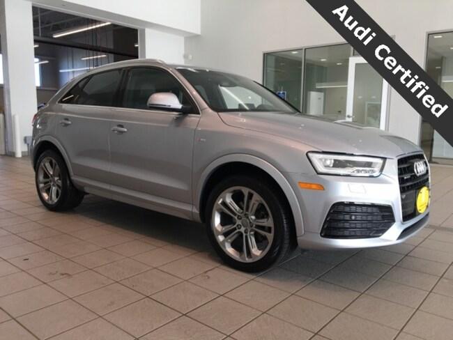 Certified Pre-Owned 2018 Audi Q3 2.0T Premium Plus quattro West Springfield MA