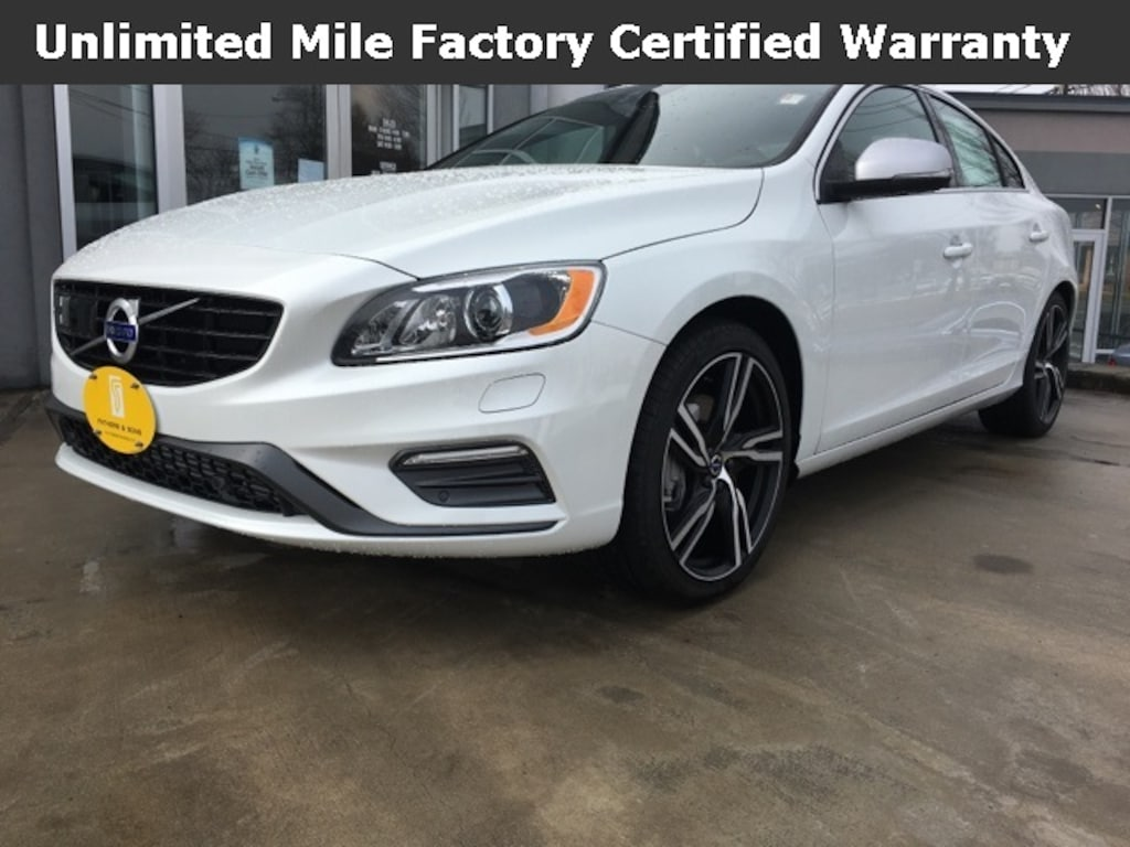 Volvo S80 2017 >> New 2017 Volvo S60 T6 Awd R Design Platinum For Sale In West Springfield Ma Serving Chicopee West Springfield Yv149mts8h2435337