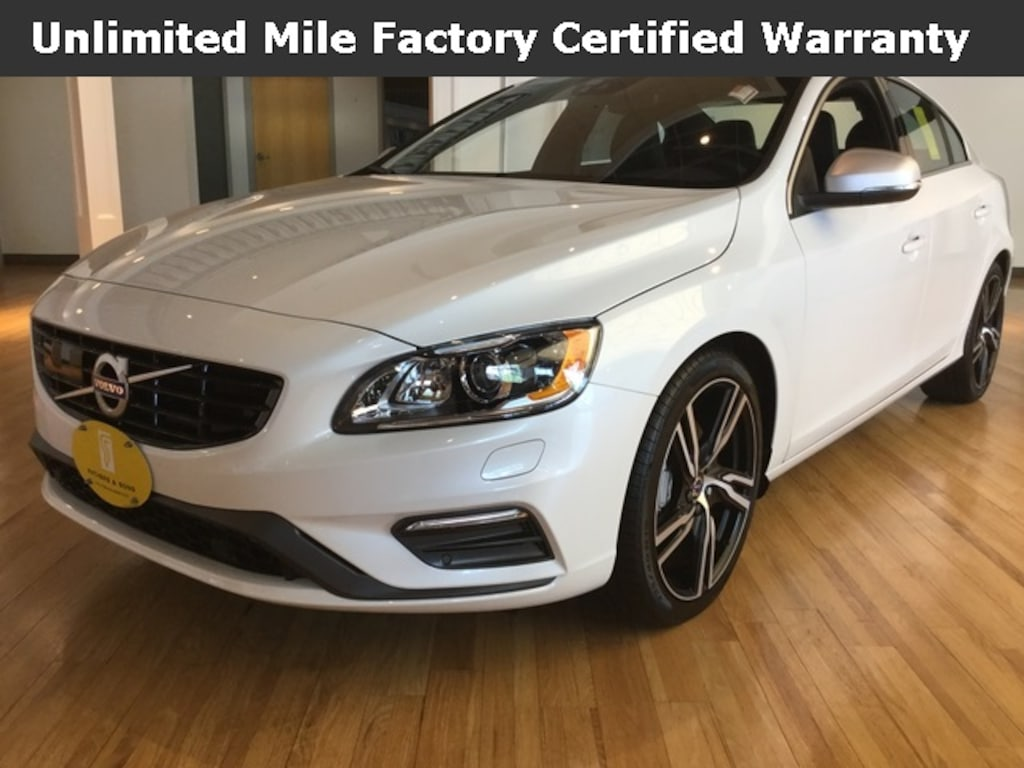 New 2017 Volvo S60 T6 AWD R-Design Platinum For Sale in West Springfield MA  |Serving Chicopee & West Springfield | YV149MTS2H2432918
