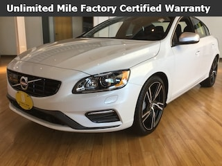 New 2017 Volvo S60 T6 AWD R-Design Platinum Sedan YV149MTS2H2432918 for sale in West Springfield, MA