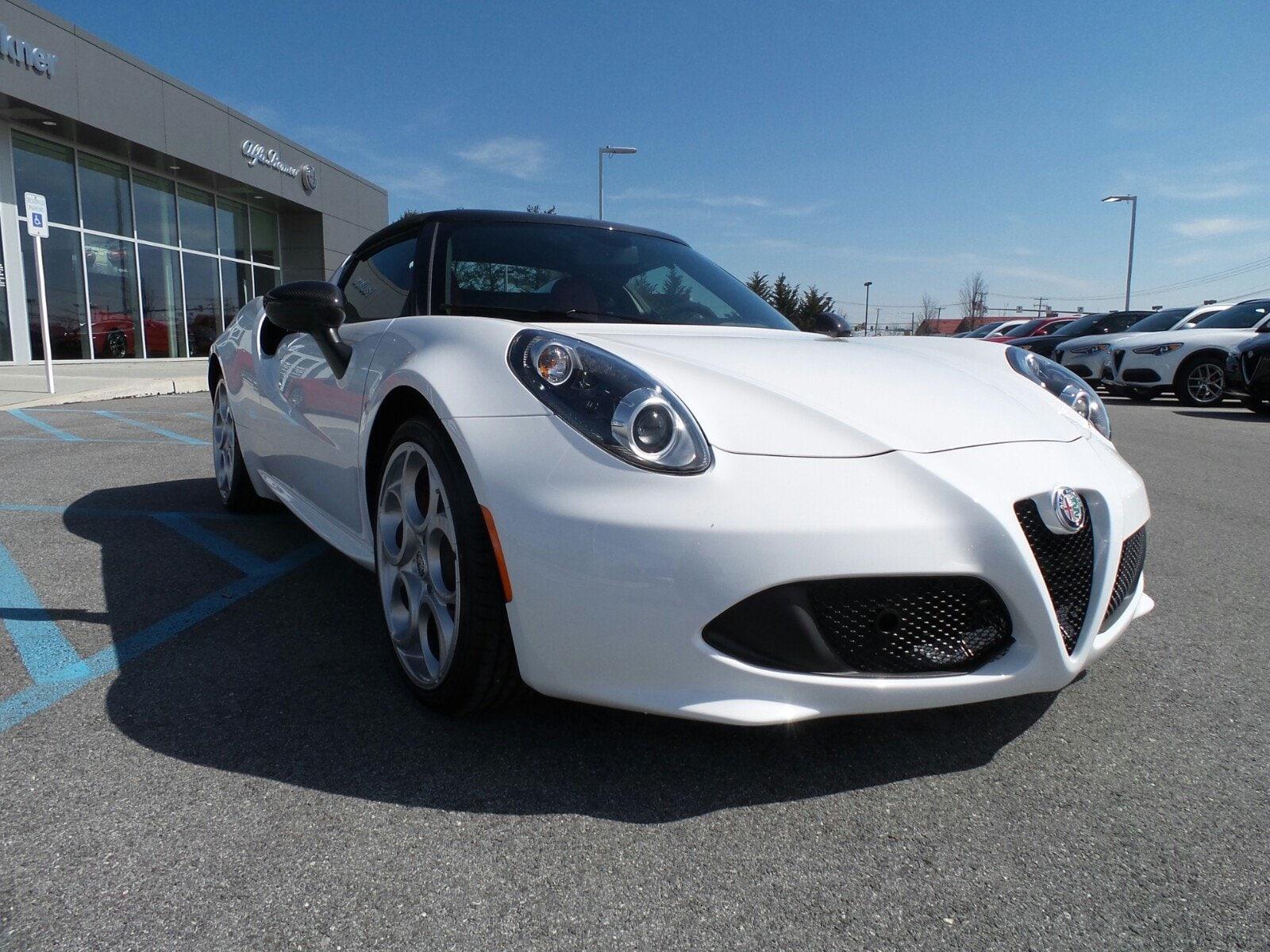 New 2018 Alfa Romeo 4c Spider For Sale Mechanicsburg Pa