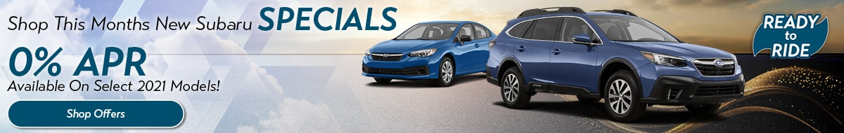 March New Subaru Specials