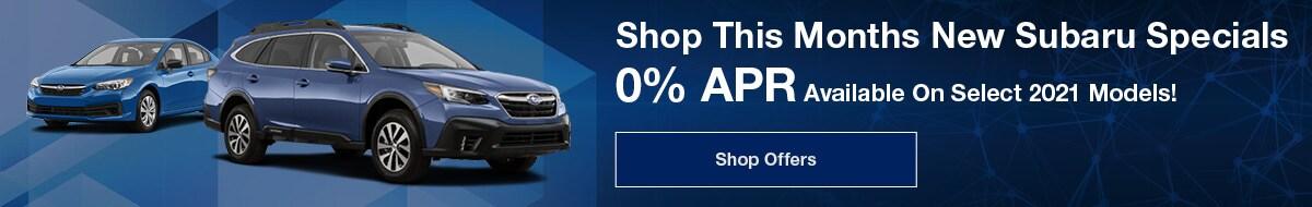 Shop This Months New Subaru Specials - April