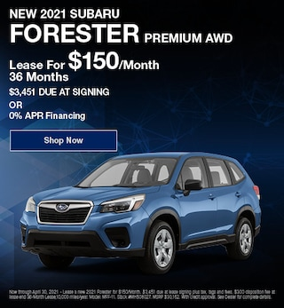 New 2021 Subaru Forester Premium AWD - April Offer