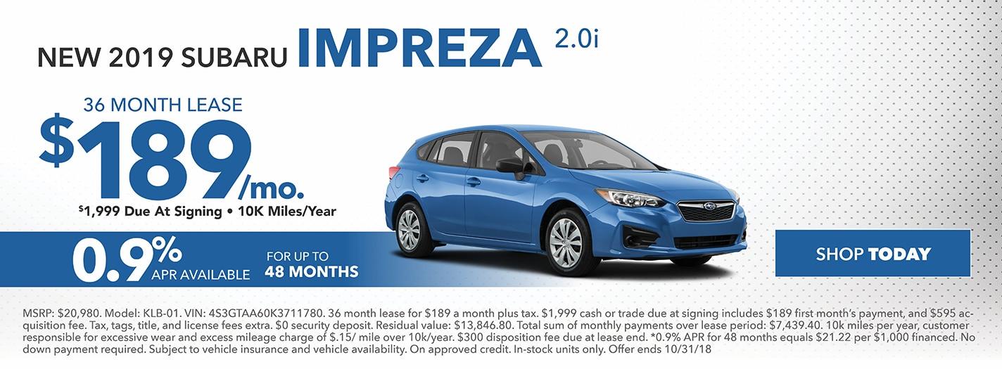 New Subaru Specials In Harrisburg Pa
