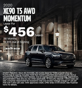 New 2020 Volvo XC90 T5 AWD Momentum - January Special