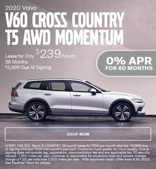 2020 Volvo V60 Cross Country T5 AWD Momentum