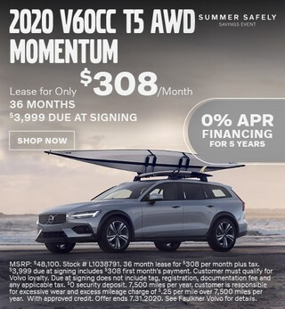 New 2020 Volvo V60 Cross Country - July Special