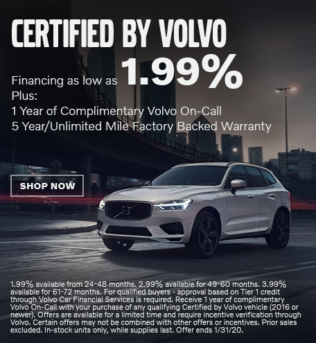 Certified Pre-Owned Inventory - January Special