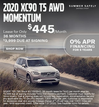 New 2020 Volvo XC90 T5 AWD Momentum - July Special