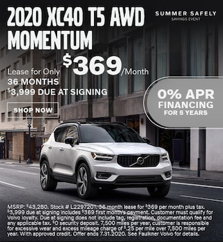 New 2020 Volvo XC40 T5 AWD Momentum - July Special