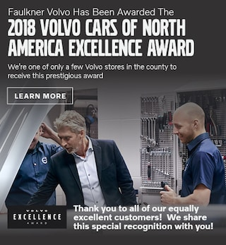 Volvo Cars Of North America Excellence Award