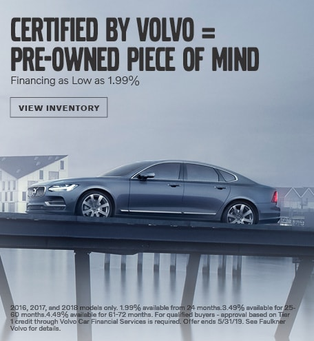 Certified Pre-Owned Financing