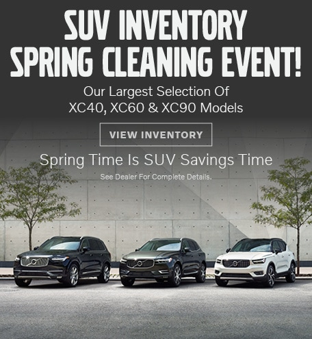 SUV Spring Cleaning Event