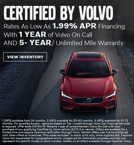 Certified By Volvo - September Special