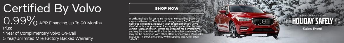 Certified by Volvo APR Offer