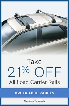 Take 21% Off All Load Carrier Rails