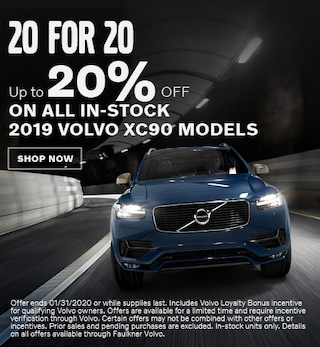 20 For 20 - Up To 20% OFF All In Stock 2019 XC90 Models