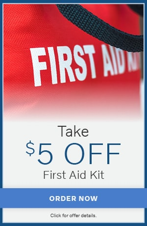 Take $5 Off First Aid Kit
