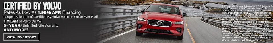 Certified By Volvo - October Special