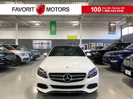 2017 Mercedes-Benz C-Class C300 4matic NAV Dual Sunroof Cream Leather Ambient Sedan