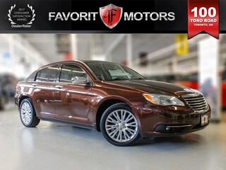 2012 Chrysler 200 LIMITED   LEATHER   SUNROOF   HEATED SEATS Sedan