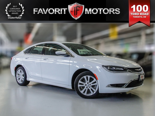 2015 Chrysler 200 Limited | BLUETOOTH | HEATED SEATS | ALLOY Sedan