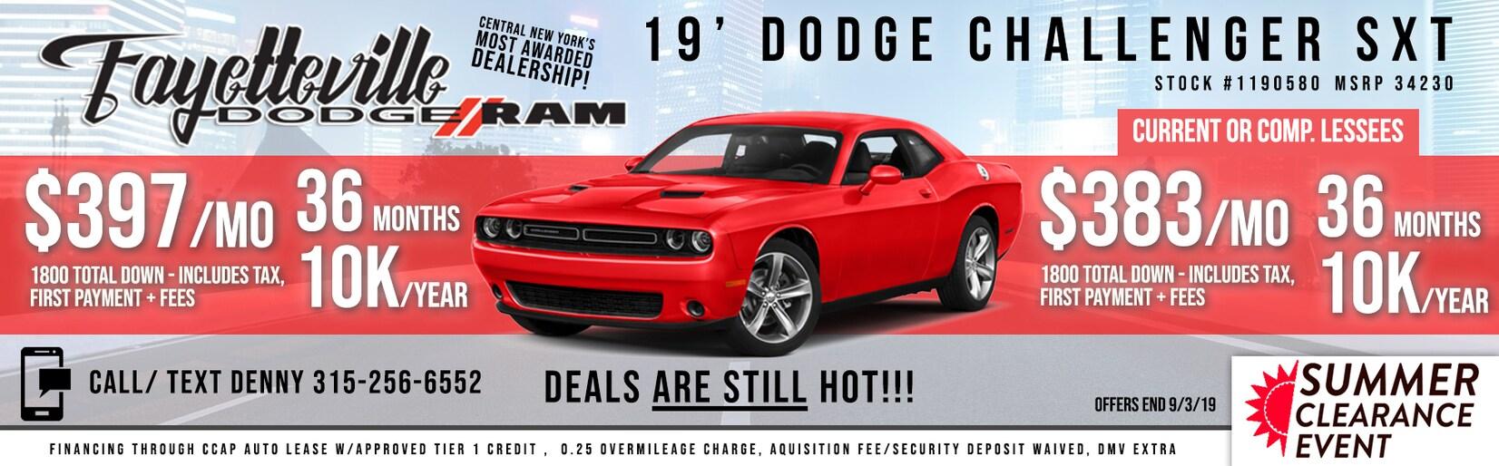 Dodge, Ram & Used Car Dealership at Fayetteville Dodge Ram