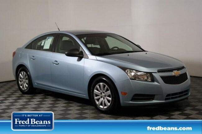 Fred Beans Chevrolet >> Used 2011 Chevrolet Cruze Ls For Sale In Flemington Nj