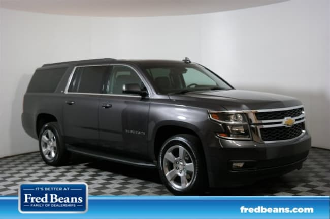 Fred Beans Chevrolet >> Certified Used 2018 Chevrolet Suburban Lt For Sale In Doylestown Pa