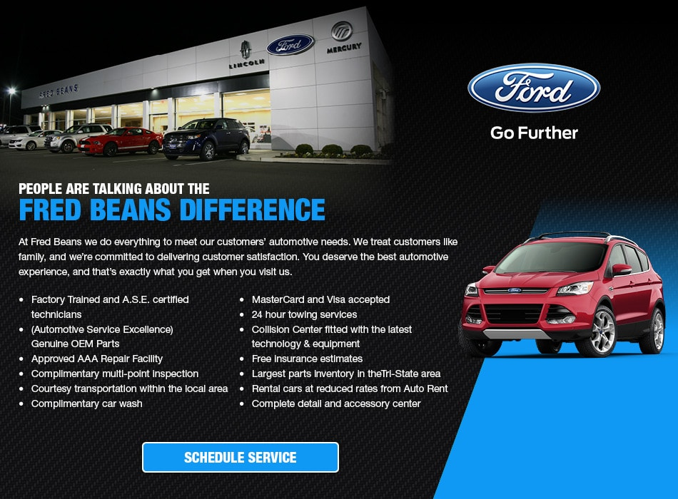 Fred Beans Boyertown >> Fred Beans Ford Doylestown Service | Doylestown PA