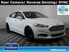 2016 Ford Fusion SE 1.5L EcoBoost *Ford Certified* Sedan