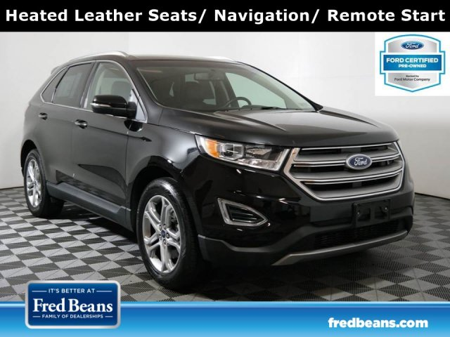 2017 Ford Edge Titanium 2.0L EcoBoost AWD I4 *Ford Certified* SUV