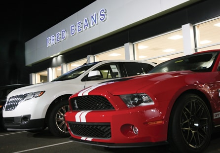 Fred Beans Ford Doylestown >> Fred Beans Ford Dealership is located on Easton Road ...