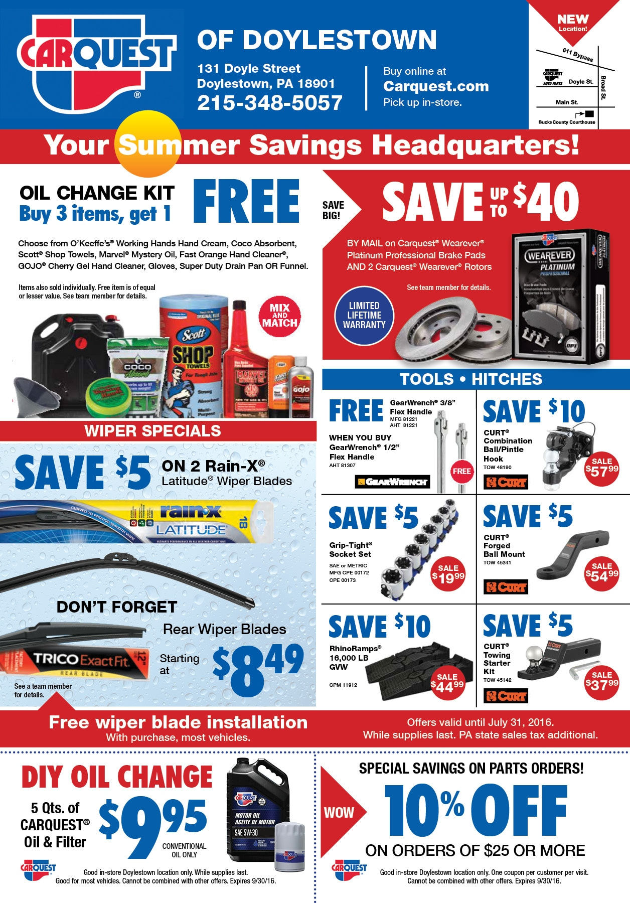 Quest Auto Parts >> Carquest Auto Parts Doylestown Pa Fred Beans