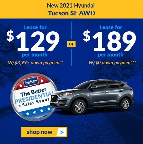New 2021 Hyundai Tucson SE AWD