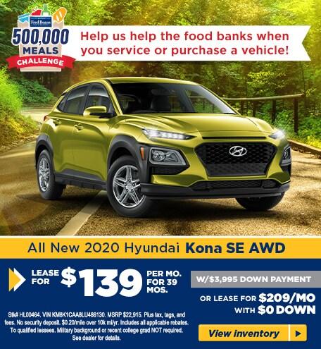 2020 Hyundai Kona SE AWD