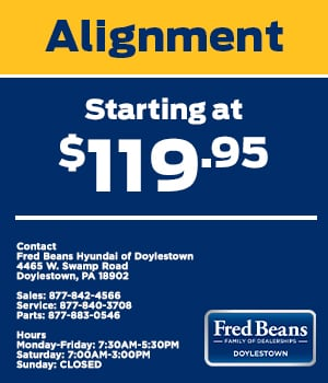 Alignment Starting at $119.95