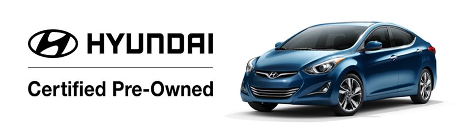 Hyundai Certified Pre Owned Program