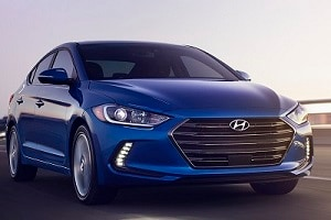 2018 Hyundai Elantra in Electric Blue
